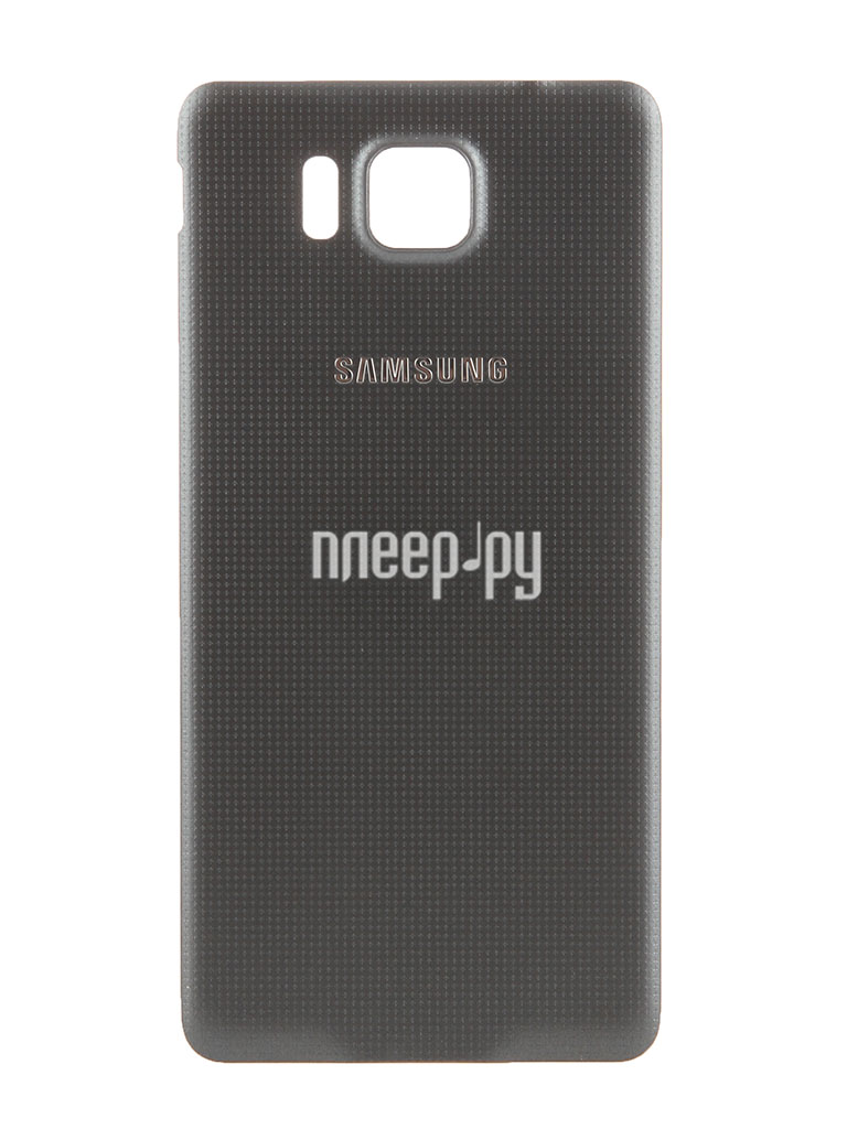 Аксессуар Крышка задняя Samsung SM-G850 Galaxy Alpha BackCover EF-OG850SBEGRU Black  Pleer.ru  950.000