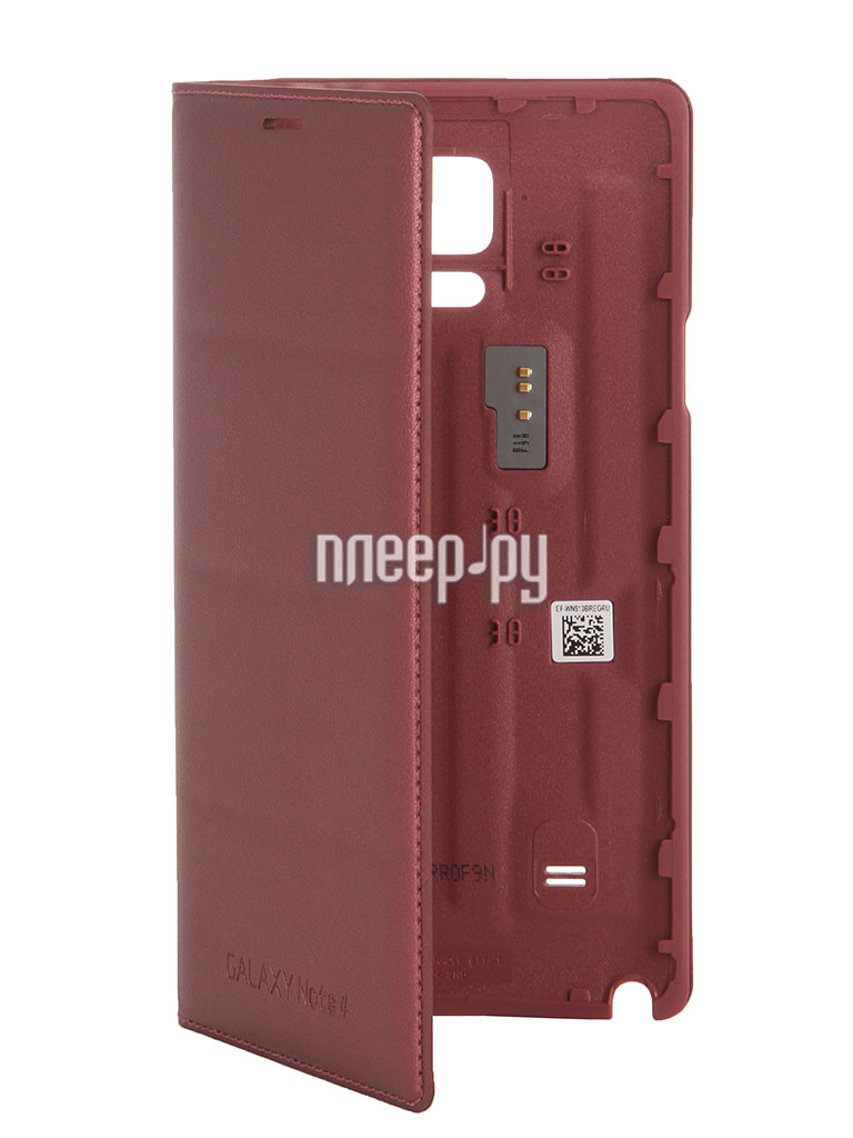 Аксессуар Чехол Samsung SM-N910 Galaxy Note 4 Flip Wallet EF-WN910BREGRU Red  Pleer.ru  1655.000