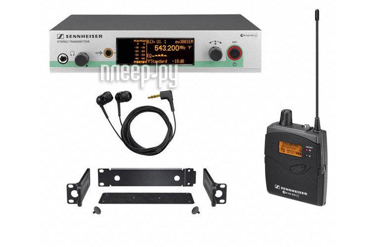 Система персонального мониторинга Sennheiser EW 300 IEM G3-G-X  Pleer.ru  37610.000