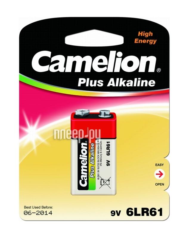 КРОНА - Camelion Plus Alkaline 6LF22 6LR61-BP1 (1 штука)  Pleer.ru  100.000