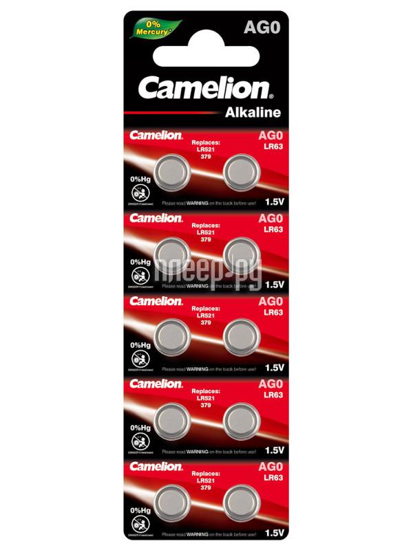 Camelion LR521 G 0 BL-10 AG0-BP10 (1 штука)  Pleer.ru  52.000