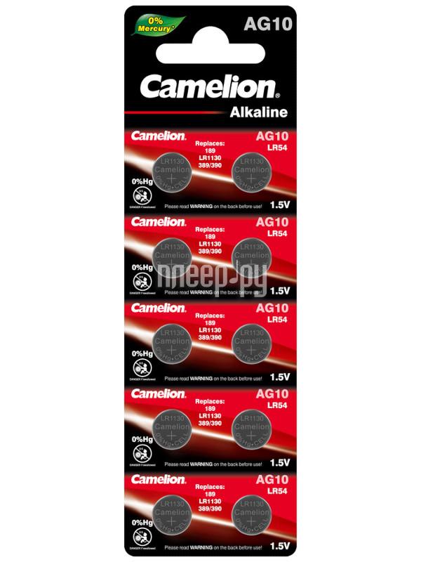 Camelion LR1130 G10 BL-10 AG10-BP10 (1 штука)  Pleer.ru  52.000