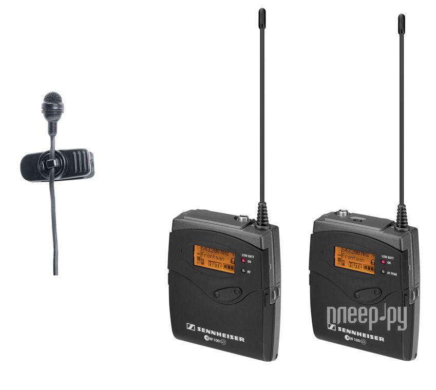 Радиомикрофон Sennheiser EW 122-P G3-B-X  Pleer.ru  22397.000