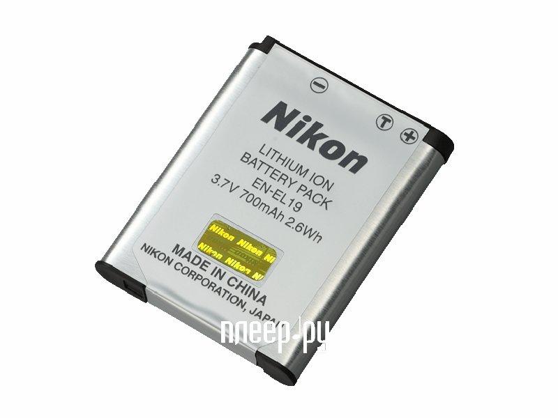 Аккумулятор Nikon EN-EL19  Pleer.ru  947.000