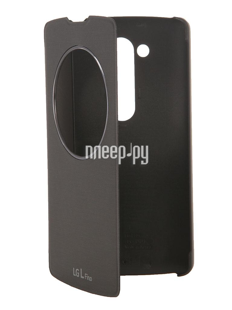 Аксессуар Чехол LG D295 QuickWindow CCF-550 Black  Pleer.ru  1398.000