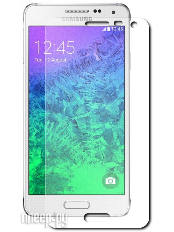 Аксессуар Стекло противоударное Samsung SM-G850F Galaxy Alpha Ainy 0.33mm  Pleer.ru  696.000
