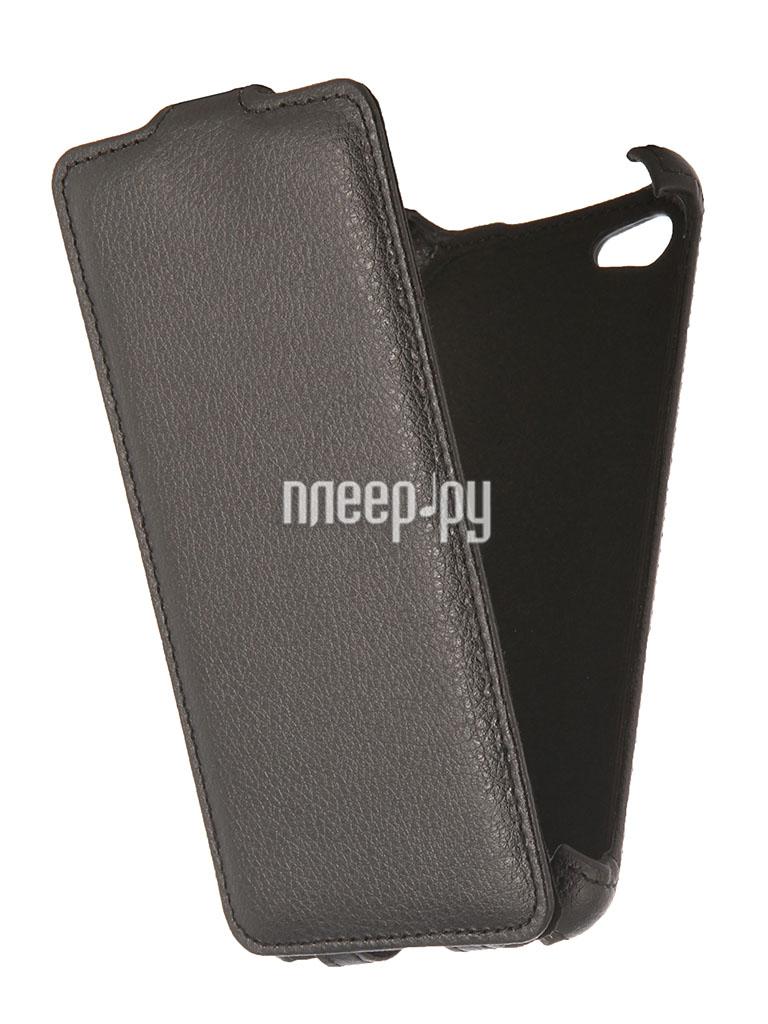 Аксессуар Чехол Philips W6610 EcoStyle Flip Sheel Black ESH-F-PHW6610-BL  Pleer.ru  1098.000