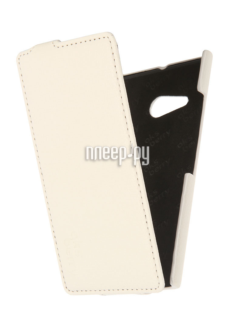 Аксессуар Чехол Nokia Lumia 730/735 Aksberry White  Pleer.ru  1129.000