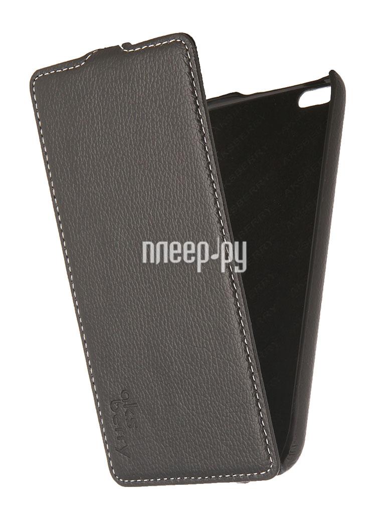Аксессуар Чехол iPhone 6 Plus 5.5-inch Aksberry Black  Pleer.ru  1129.000