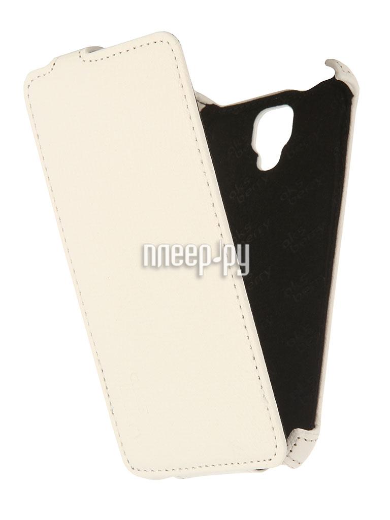 Аксессуар Чехол Lenovo A536 Aksberry White  Pleer.ru  1129.000