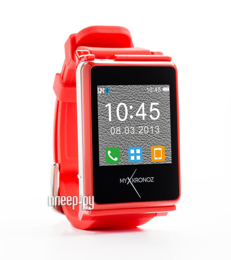 Умные часы MyKronoz ZeNano Red  Pleer.ru  4688.000