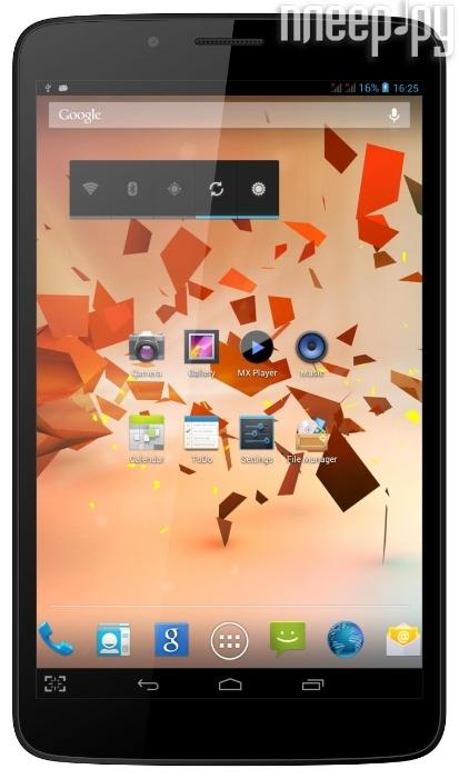 Планшет Ritmix RMD-857 MTK8382 1.2 GHz/1024Mb/8Gb/3G/Wi-Fi/Bluetooth/Cam/8.0/1280x800/Android 4.2  Pleer.ru  5571.000