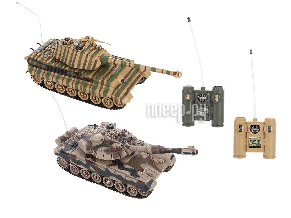 Игрушка Zegan Танковый бой T-90 vs King Tiger  Pleer.ru  2111.000