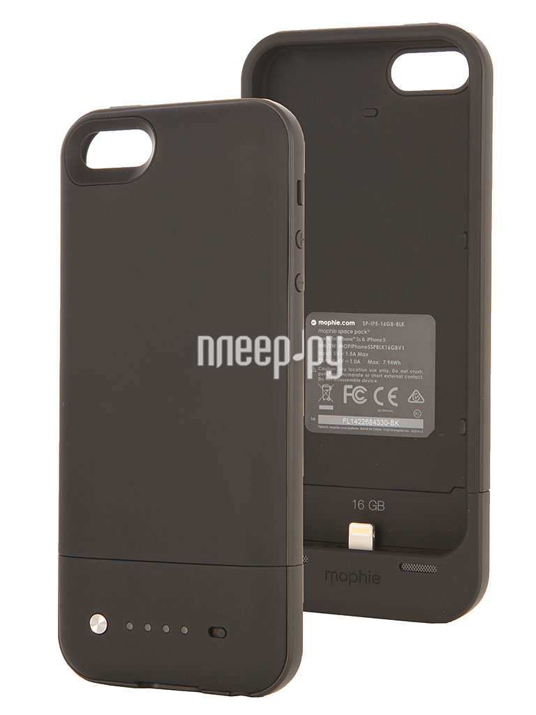 Аккумулятор Mophie Space Pack 16Gb  Pleer.ru  6350.000