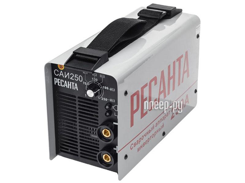 Сварочный аппарат Ресанта САИ 250  Pleer.ru  7241.000