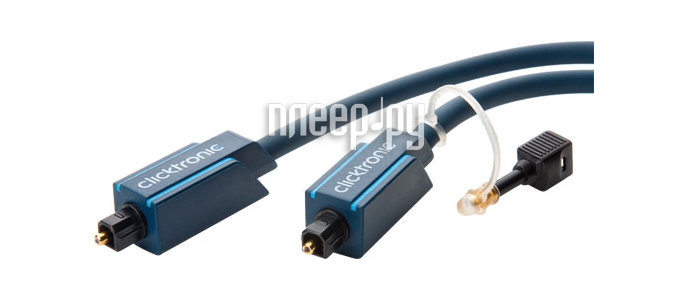 Аксессуар Clicktronic Toslink / Toslink Casual 5m 70370  Pleer.ru  1121.000