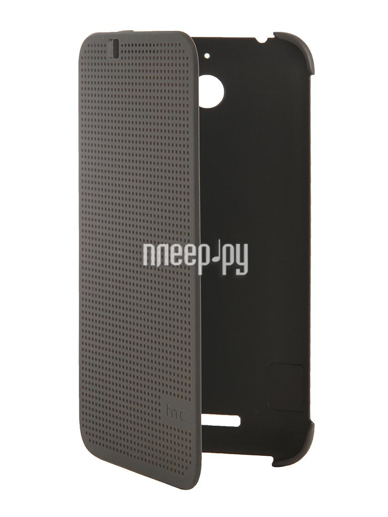 Аксессуар Чехол HTC Desire 510 Dot Case HC M130 Grey  Pleer.ru  1789.000