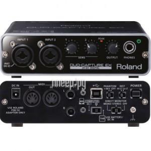 Купить Аудиоинтерфейс Roland UA-22 Duo-Capture EX