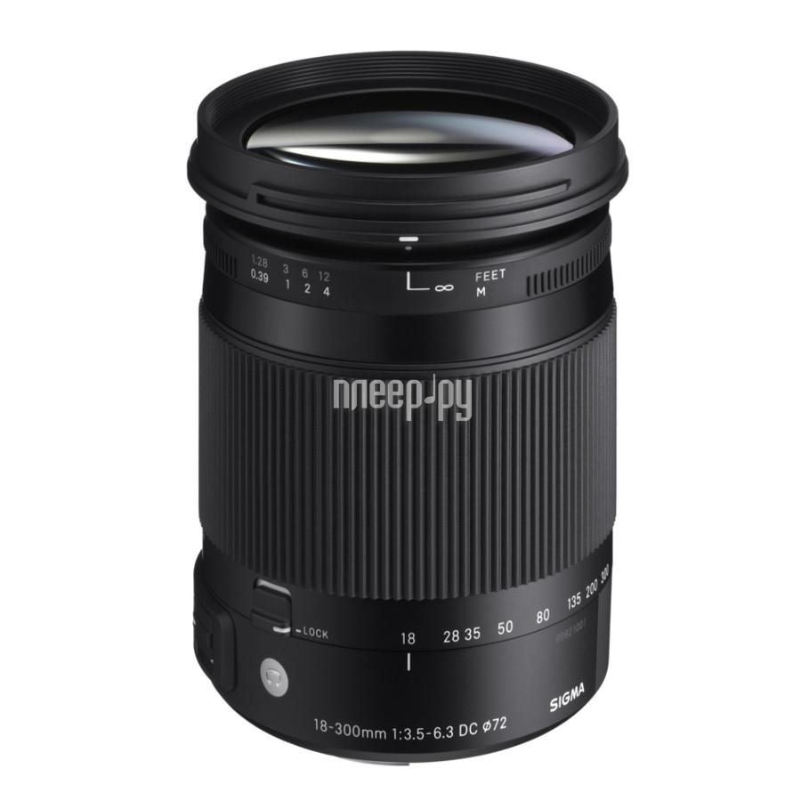 Объектив Sigma Sony / Minolta 18-300 mm F/3.5-6.3 DC Macro HSM Contemporary