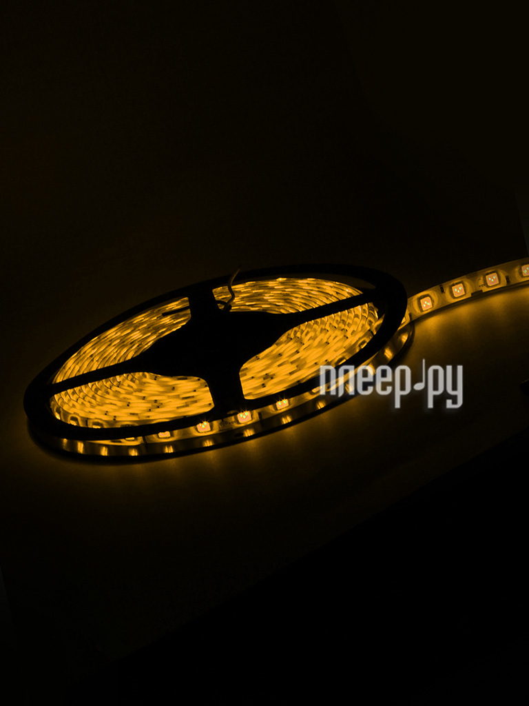 Светодиодная лента Neon-Night SMD 5050 60led/m 12V 72W 5m IP65 Yellow 141-492-0