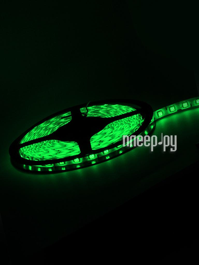 Светодиодная лента Neon-Night SMD 5050 60led/m 12V 72W 5m IP65 Green 141-494-0