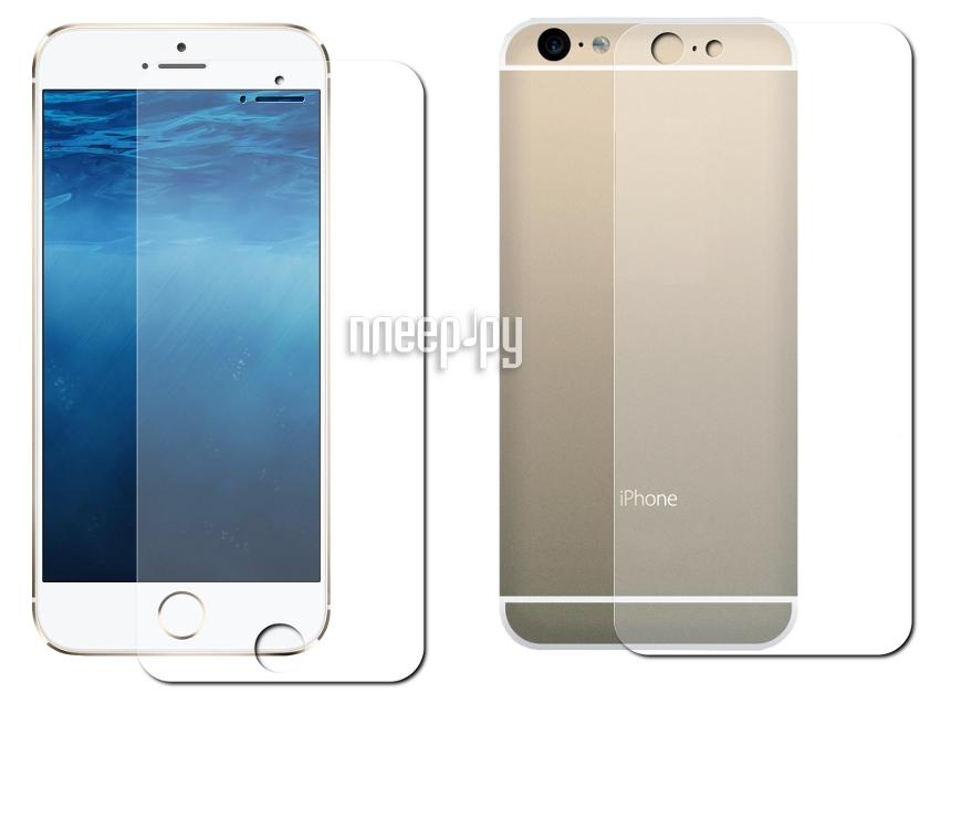 Защитная пленка Protect для iPhone 6 4.7-inch Front&Back глянцевая