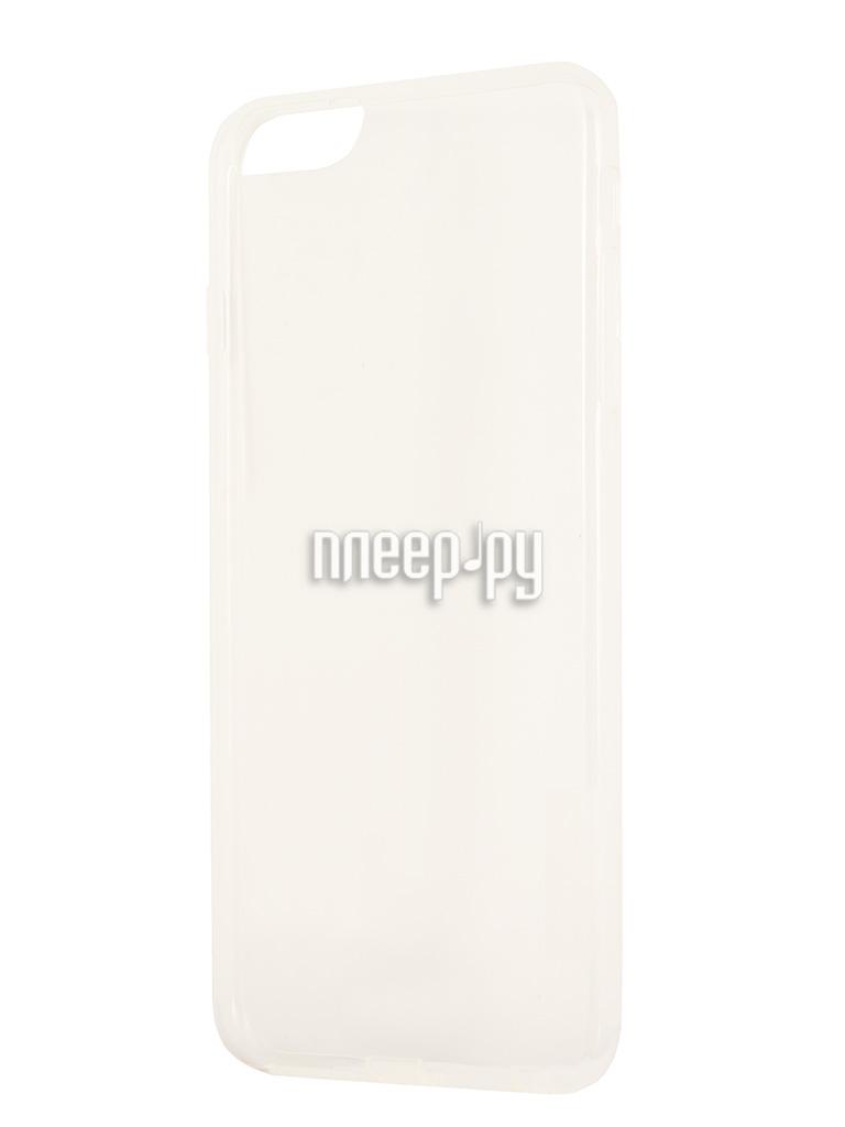 Аксессуар Чехол-накладка Nillkin Nature TPU Case for iPhone 6 Plus White T-N-Iphone6P-018