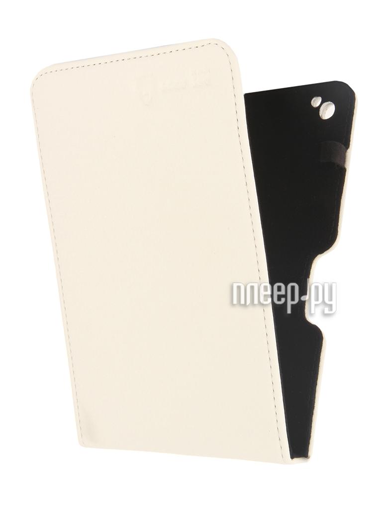 Аксессуар Чехол Good Egg for Pocketbook 650 Lira эко кожа White GE-PB650LIR2200