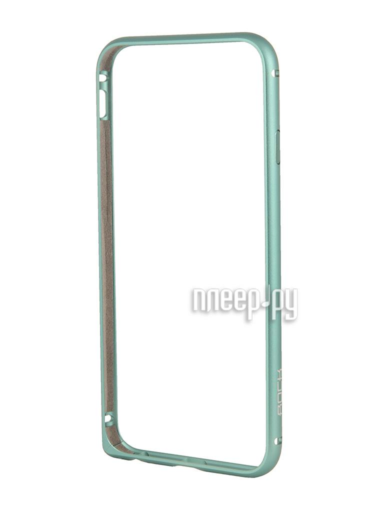 Аксессуар Чехол ROCK ARC Slim Guard Protective Shell for iPhone 6 Blue 69835