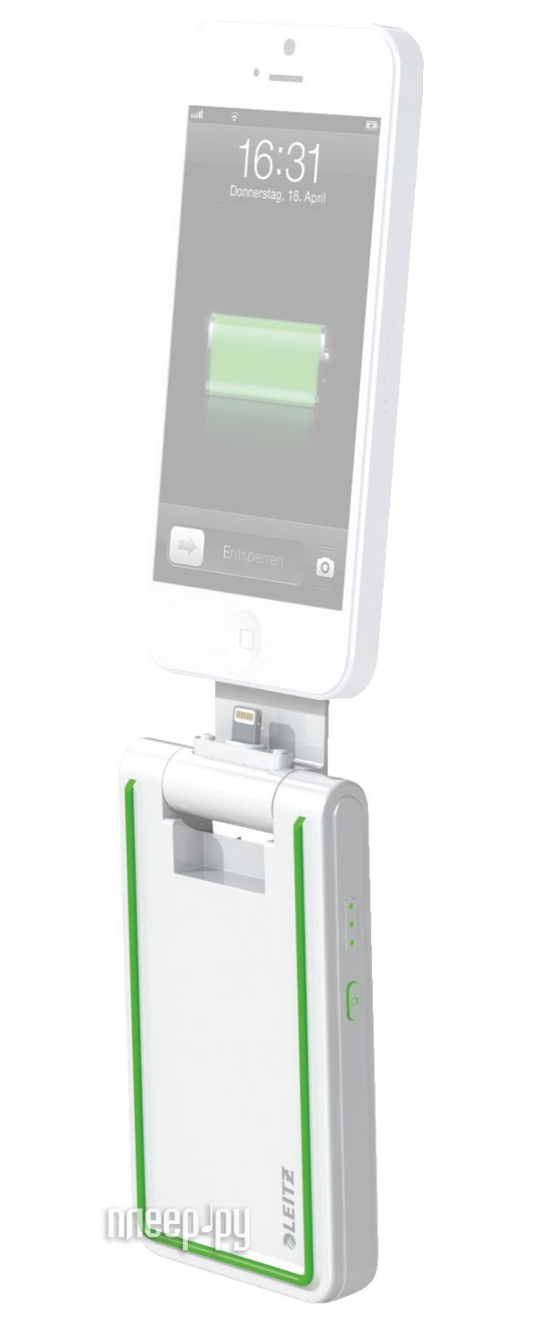 Аккумулятор Leitz Complete Lightning 3 in 1 for iPhone 5/5S/5C/iPod Touch/iPod Nano White 63630001