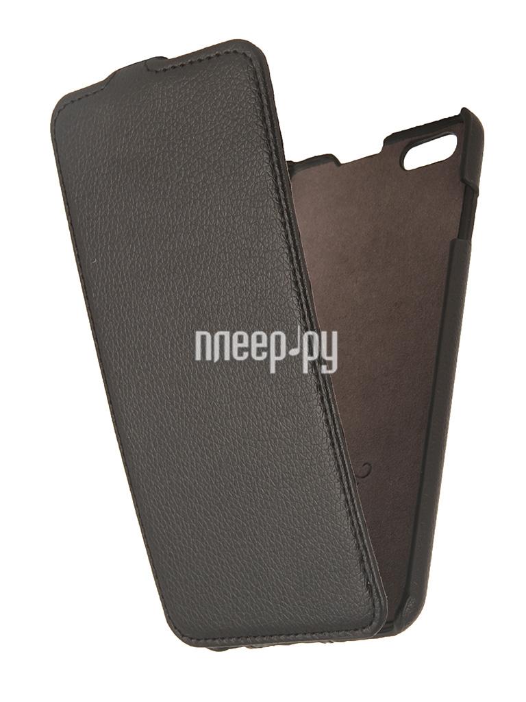Аксессуар Чехол Partner Flip-case for iPhone 6 Plus 5.5-inch Black ПР032088