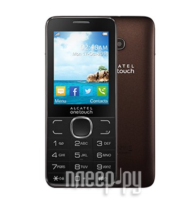 Сотовый телефон Alcatel OneTouch 2007D Dark Chocolate
