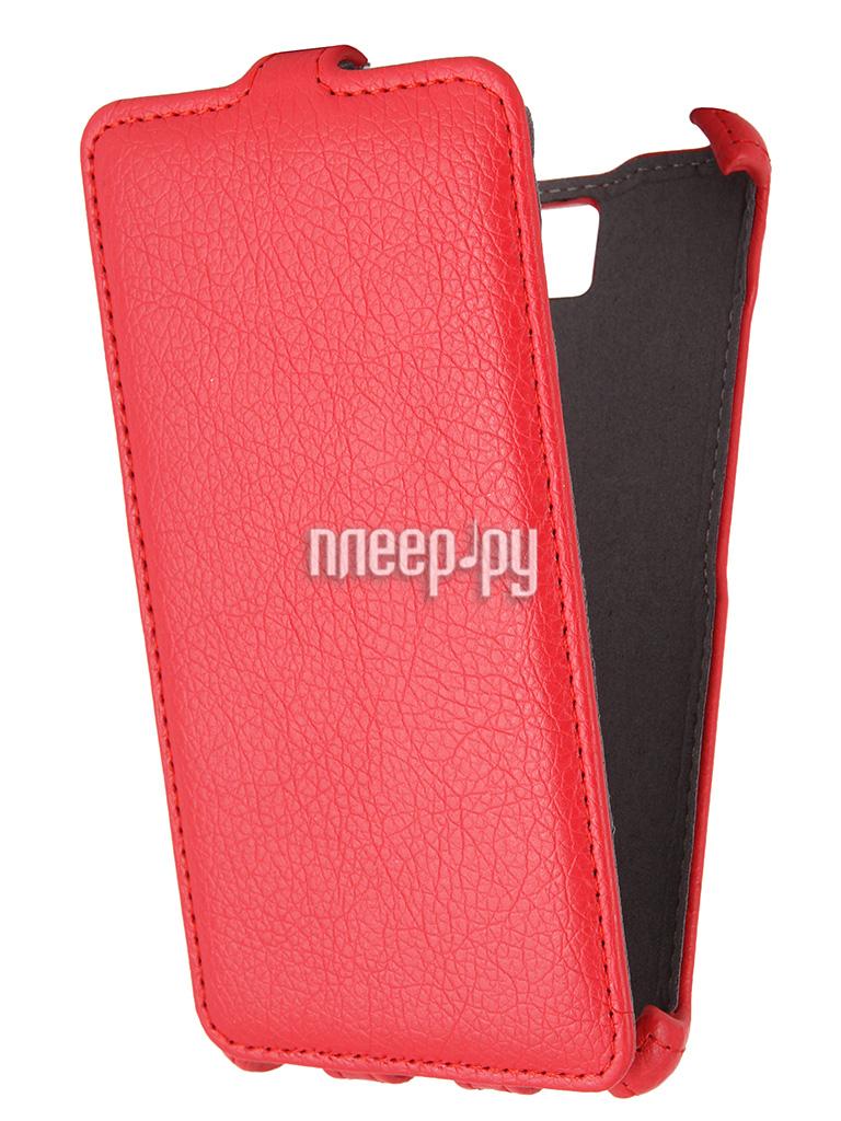 Аксессуар Чехол Lenovo S856 Gecko Red