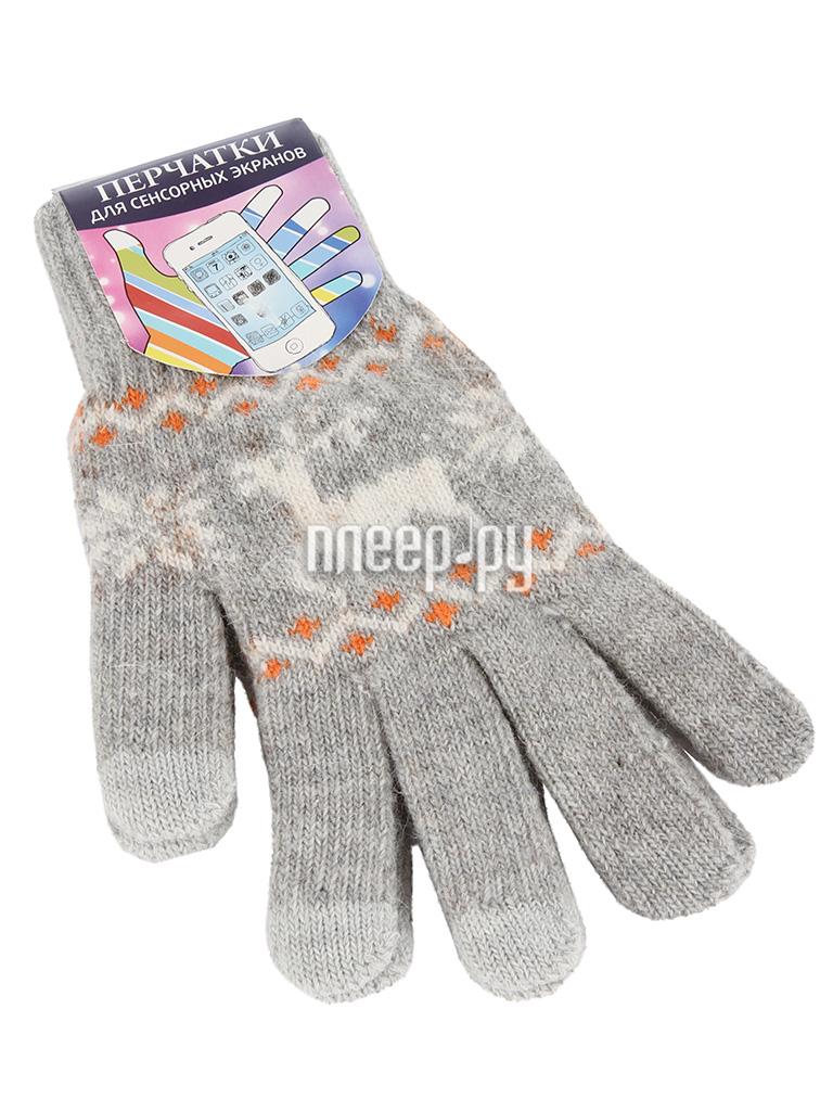 Теплые перчатки для сенсорных дисплеев Harsika р.UNI 0914