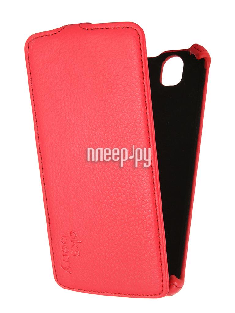 Аксессуар Чехол Fly IQ4503 Aksberry Red купить
