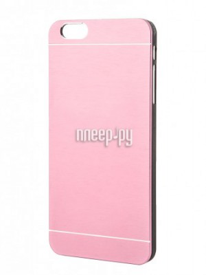 Аксессуар Клип-кейс Prolife Platinum Hi-tech для iPhone 6 Plus пластик, металл Bright-Pink 4103938