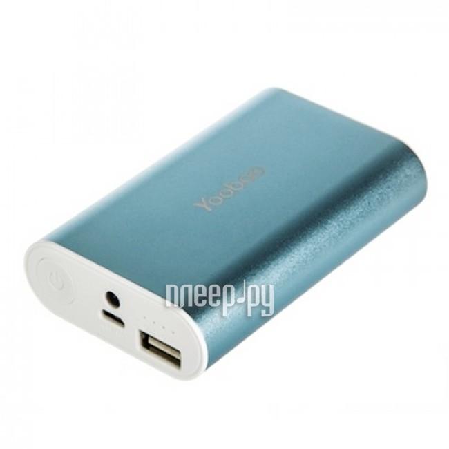 Аккумулятор Yoobao Power Bank Master M3 YB-6013 7800 mAh Blue