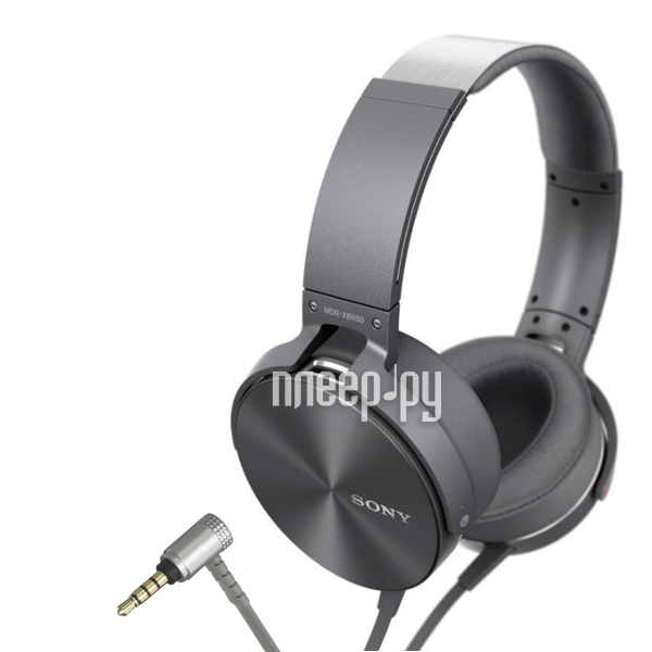 Гарнитура Sony MDR-XB950AP Grey