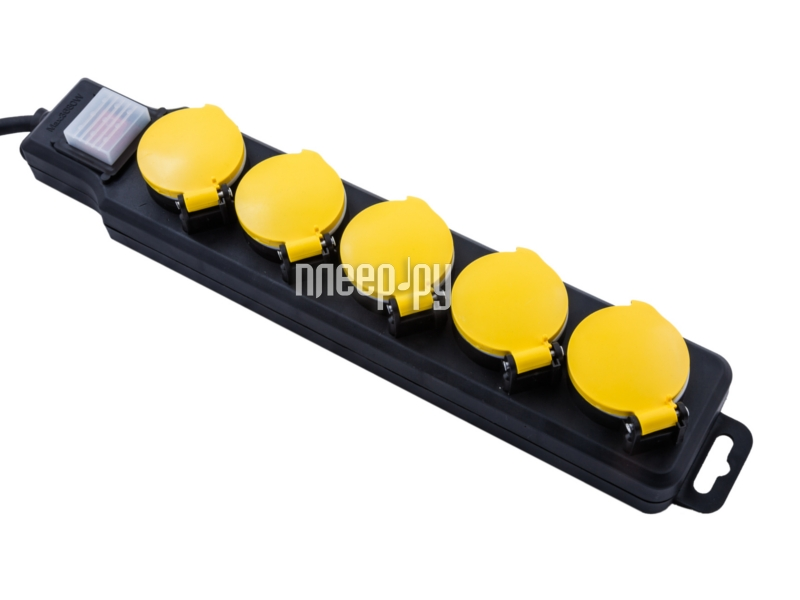 Сетевой фильтр ProConnect 6 Sockets 5m White 11-9522