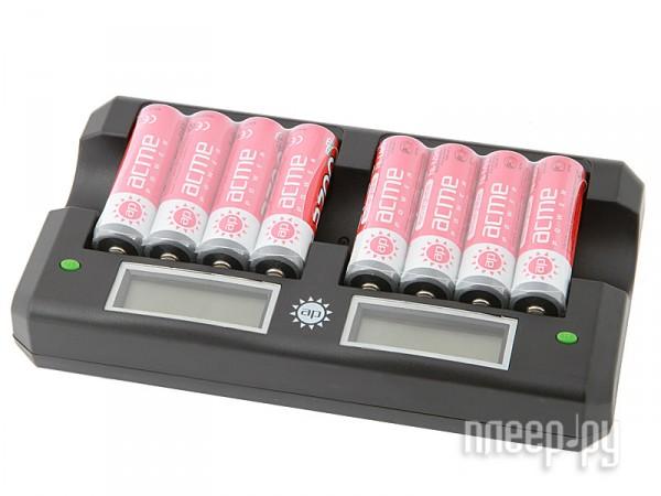 Зарядное устройство AcmePower AP RC-8 + 8 ак. AA 2600/2700 mAh  Pleer.ru  2250.000