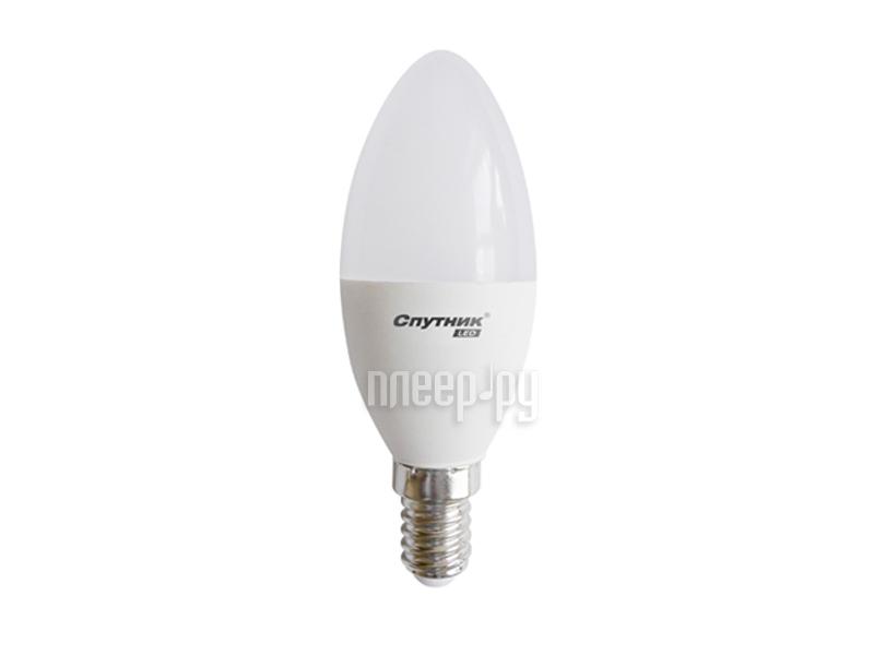 Лампочка Спутник LED C37 E14 5W 220V 2700K