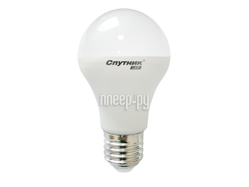 Лампочка Спутник LED A60 E27 5W 220V 2700K 16-A60-5W-2700-E27