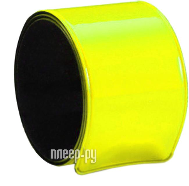 Светоотражатель RFX-3M Браслет самофиксирующийся 30x340mm Yellow