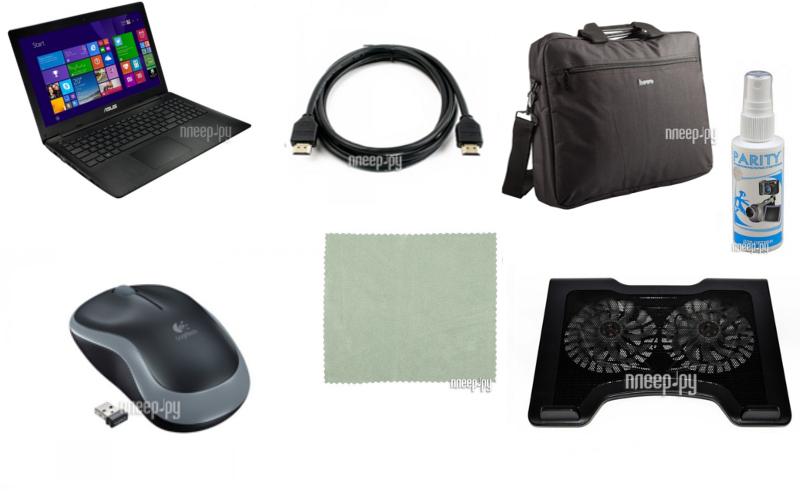 Ноутбук ASUS X553MA-XX061H 90NB04X1-M02080 Выгодный набор!!! (Intel Pentium N3530 2.16 GHz/4096Mb/50. Доставка по России