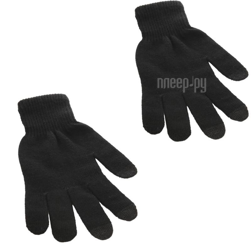 Теплые перчатки для сенсорных дисплеев CBR / Human Friends Mobile Comfort Fiver р.UNI Cool Black