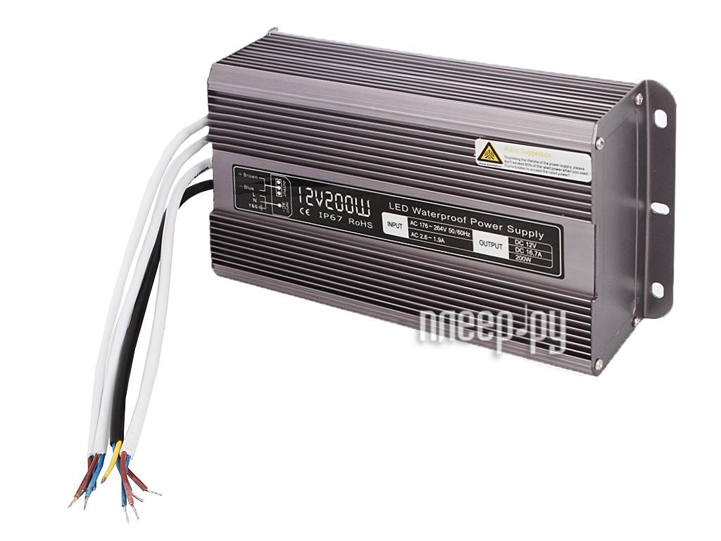 Блок питания LUNA PS LED 12V 200W DC IP 67 50131