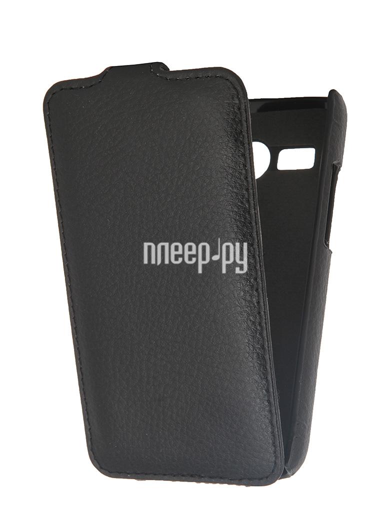 Аксессуар Чехол Lenovo A316i Clever Case ShellCase PU Black PS043