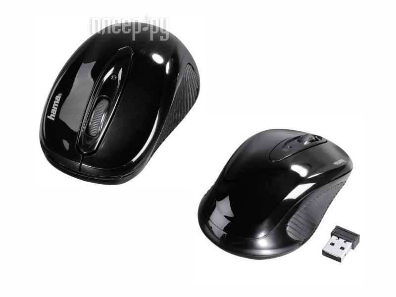 Мышь HAMA AM-7300 Black USB