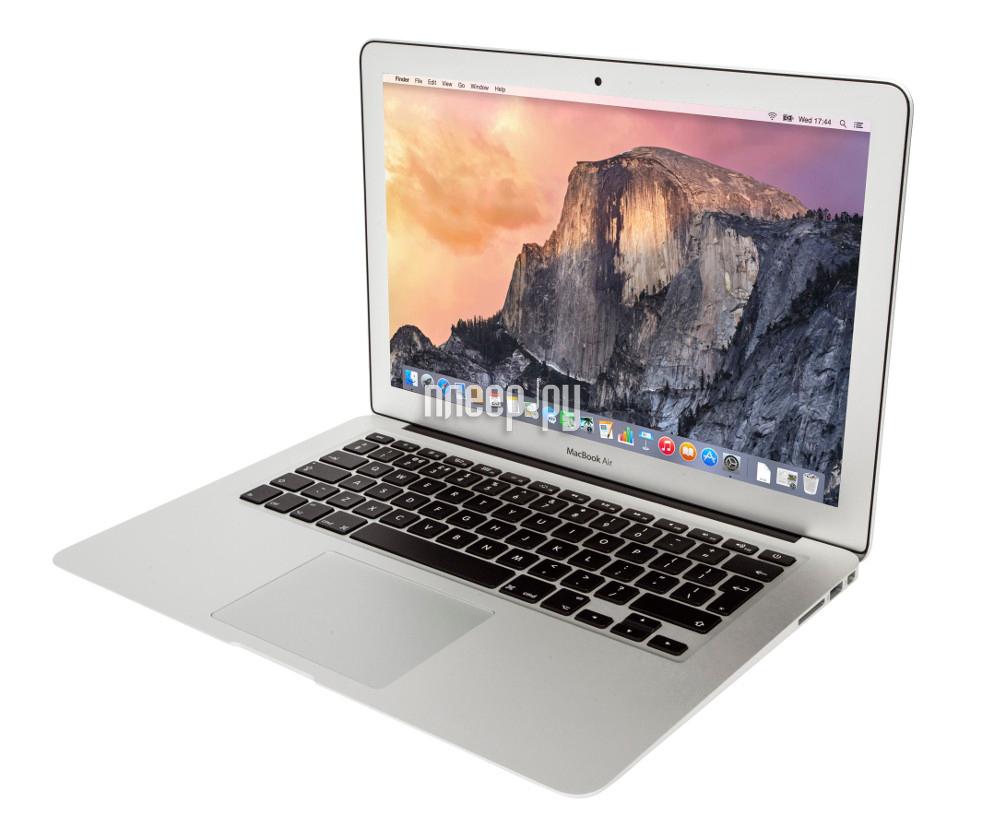 Ноутбук APPLE MacBook Air 13 MQD32RU / A (Intel Core i5 1.8 GHz / 8192Mb / 128Gb / Intel HD Graphics 6000 / Wi-Fi / Bluetooth / Cam / 13.3 / 1440x900 / macOS Sierra)
