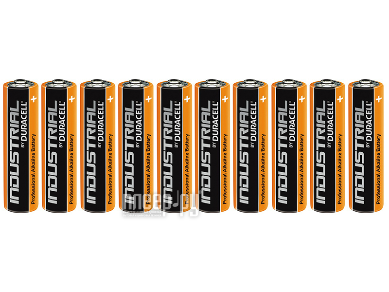 Батарейка AA - Duracell LR6 Industrial (10 штук)